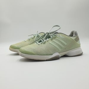 AUS9 Adidas By Stella McCartney Mint Green Runners Sneakers